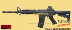 TOP M4A1 ver. 2 CARBINE (ULTIMATE Shell Ejecting + Electric Blowback AEG)